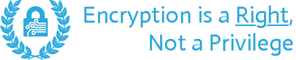 I Use Encryption